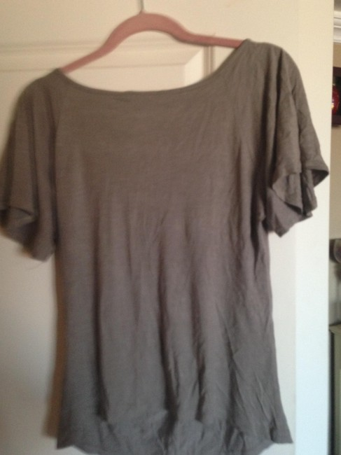 H&M Top Taupe- Brown