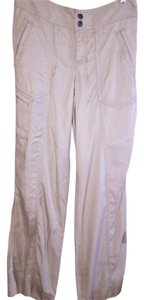 Athleta Relaxed Pants tan