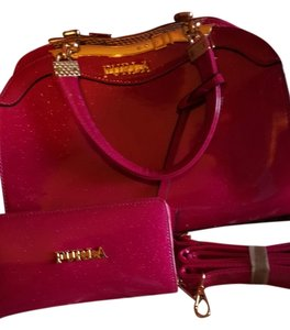 Furla Satchel in Bright pink
