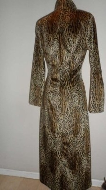 Other Leopard Animal Long Evening Coat Print Jacket