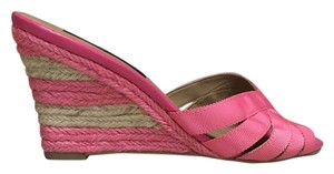 Ann Taylor Hot pink Wedges