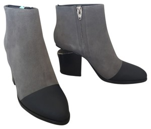Alexander Wang Ankle Suede Round Toe Bootie Boots