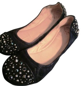 Vince Camuto Black Suede Flats