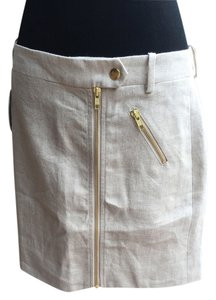 J.Crew Mini Mini Skirt Khaki