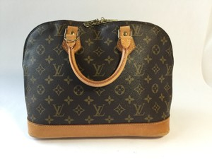 Louis Vuitton Alma Satchel in Monogram