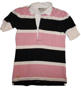 Rugby Ralph Lauren Shirt Button Down Shirt Pink Multi