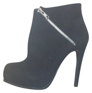 Steve Madden Night Out Suede Black Boots