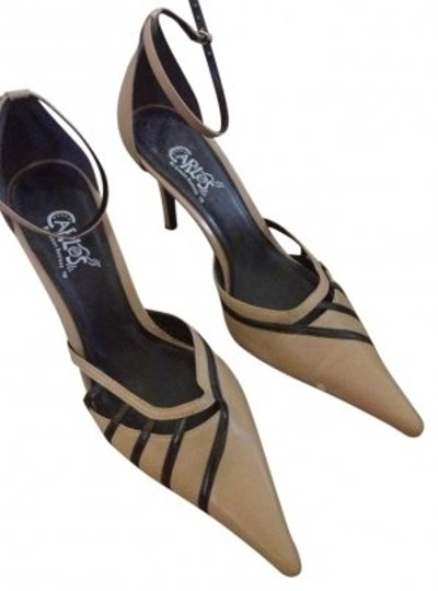 Preload https://item5.tradesy.com/images/carlos-by-carlos-santana-brown-and-tan-retro-ii-made-in-brazil-leather-pumps-size-us-9-143219-0-0.jpg?width=440&height=440