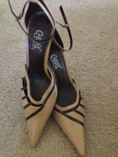 Carlos by Carlos Santana Retro Ii Made In Brazil Leather Brown and Tan Pumps
