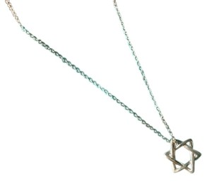 Tiffany & Co. Star of David Necklace