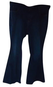 Old Navy Womens Wash 20 Relaxed Fit Jeans-Dark Rinse