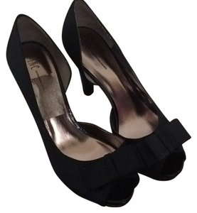 INC International Concepts Black Platforms