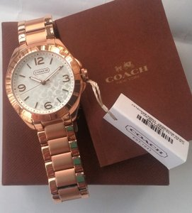 Coach Ladies Tristen Rose Gold Watch