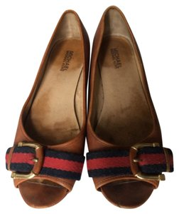 MICHAEL Michael Kors British tan Flats