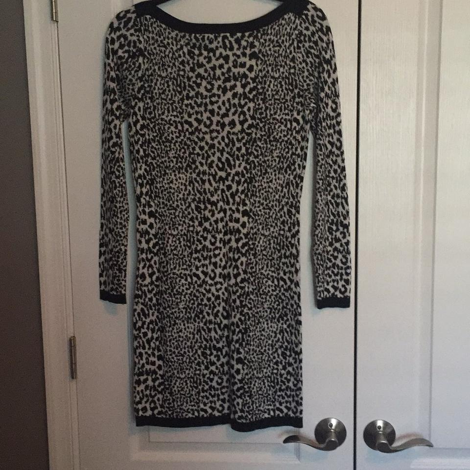 006cd35386c French Connection Black & White 7150a Above Knee Short Casual Dress ...