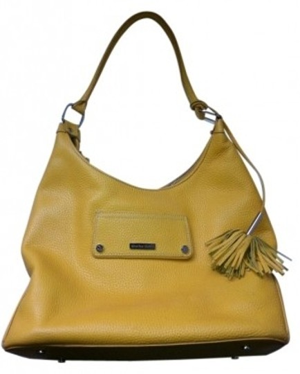 Preload https://img-static.tradesy.com/item/14323/charles-david-dark-yellow-leather-shoulder-bag-0-0-540-540.jpg