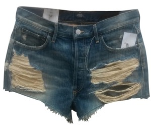 A Gold E Los Angeles Cut Off Shorts denim