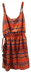Love Culture Aztec Summer Sundress Top multi-color