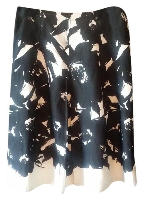 Banana Republic Skirt Black and White