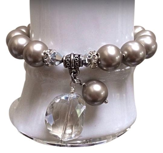 Crystal jewelry design Gorgeous crystal pearls with crystal pendants