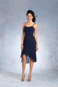 Alfred Angelo Navy 7337s Destination Bridesmaid/Mob Dress Size 16 (XL, Plus 0x)