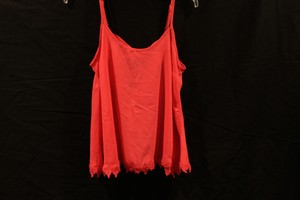 Cecico Lace Embellished Top coral