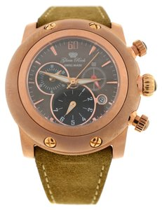 Glam Rock New Glam Rock Tan Miami Leather Chronograph Watch