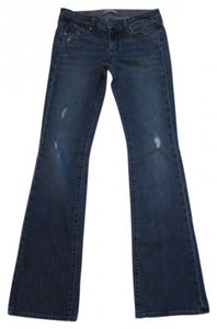 Paige Flare Leg Jeans-Distressed