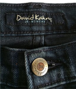 David Kahn Boot Cut Jeans-Dark Rinse