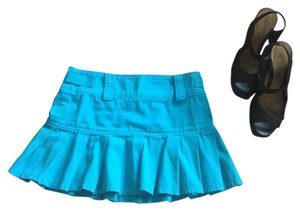 Juicy Couture Mini Skirt teal