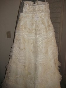 Oleg Cassini Cw6352 Wedding Dress