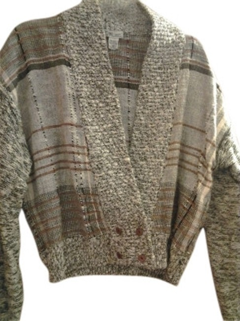 Preload https://item1.tradesy.com/images/sml-sport-earthtones-double-breasted-button-sweater-cardigan-size-8-m-14325-0-0.jpg?width=400&height=650