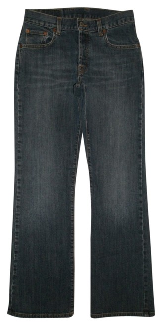 Item - Blue Dark Rinse Easy Rider 4/27 Boot Cut Jeans Size 27 (4, S)