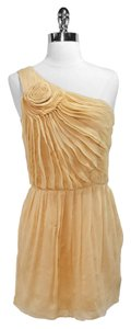 Halston Sheer Silk One Dress
