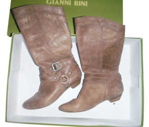Gianni Bini Sand Buckle Harness Pull On sahara sand Boots