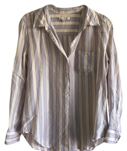Madewell Button Down Shirt Striped