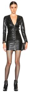 Saint Laurent Leather Dress