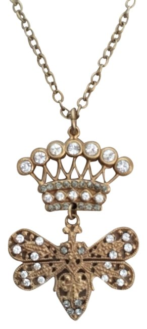 Item - Gold Crown Necklace