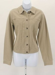High Sierra Ls Jean B313 Tan Womens Jean Jacket