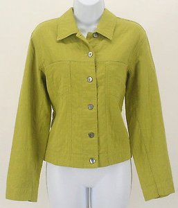 Chico's 0 Lime B93 Jacket