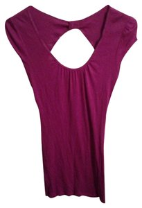 Express short dress Purple on Tradesy