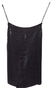 DKNY Evening Halter Top Black sequin