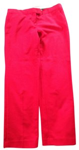 Sandro studio Capris Red