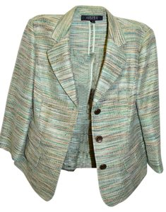 Kasper Tweedy style spring blazer. Perfect for business casual to jeans
