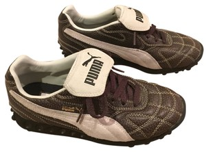 Puma Brown and white Athletic
