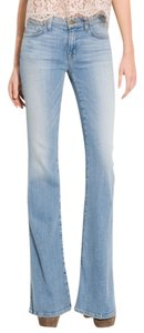 J Brand Flare Leg Jeans-Light Wash