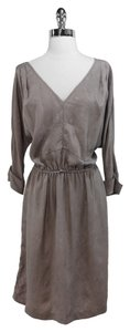 Rachel Comey short dress Taupe Silk on Tradesy