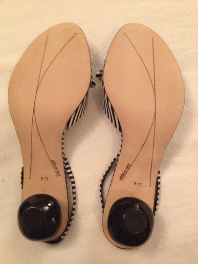 Kate Spade Black and White Pumps