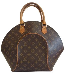 Louis Vuitton Ellipse Mm Speedy Alma Satchel in Brown