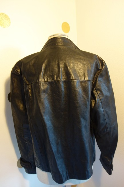 Diesel Sexy Jacket Jacket Jacket Sexy Jacket Top Black Leather